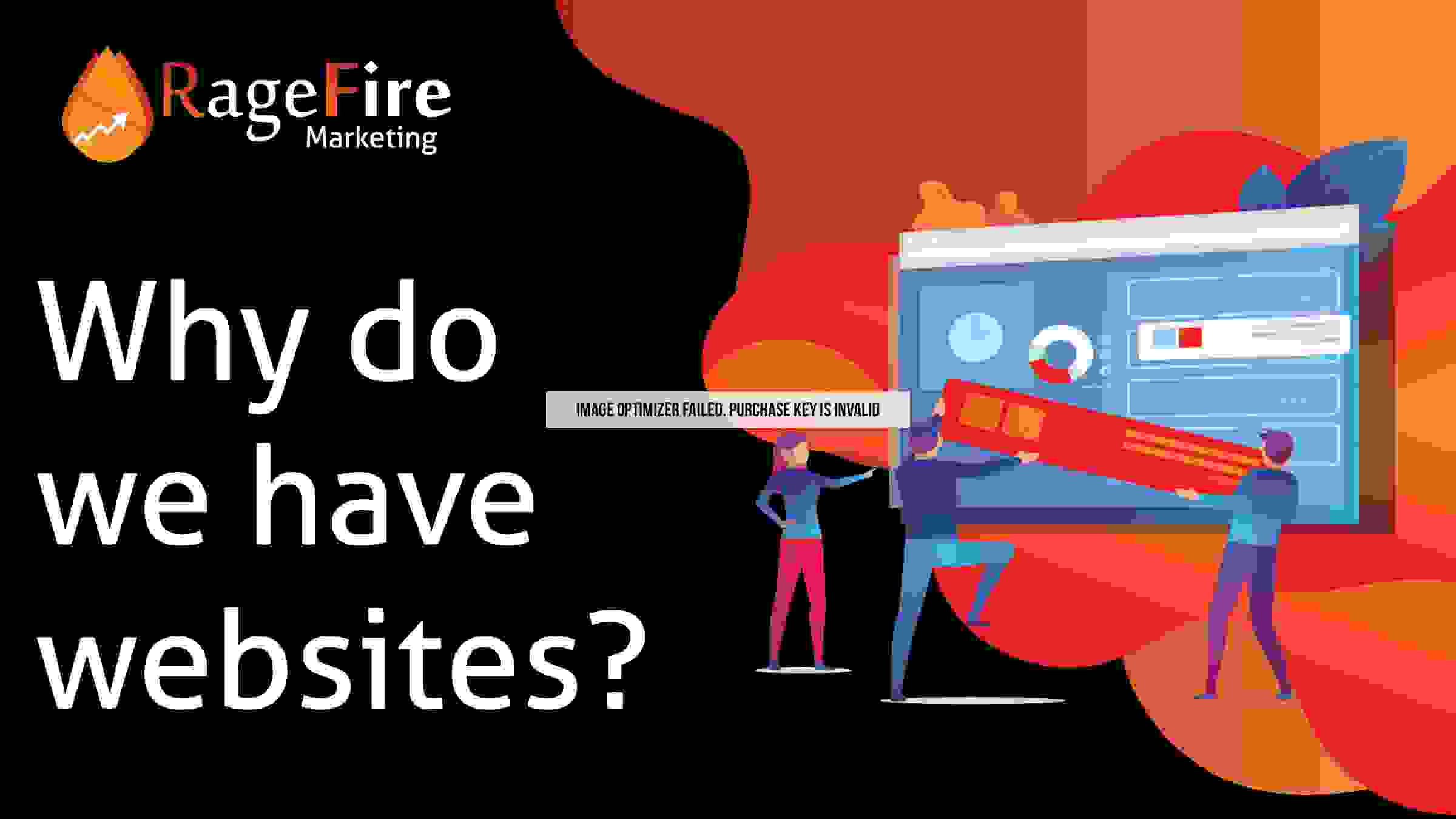 Why we do have websites?